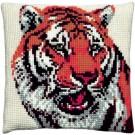 kreuzstichkissen tijger