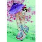 stickpackung geisha met parasol