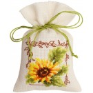 borduurpakket kruidenzakje, zonnebloem