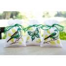 stickpackung kräutertütchen (3 st.) groene vlinder/vogels