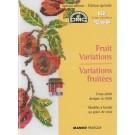 kreuzstichmusterbuch fruit