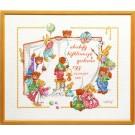 stickpackung cristl vogl, berenboek, geboorte, a.b.c.