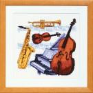 stickpackung muziekinstrumenten